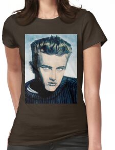 James Dean: Blue Womens Fitted T-Shirt