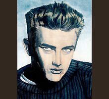 James Dean: Blue Unisex T-Shirt