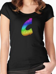 MLP - Cutie Mark Rainbow Special – Canterlot Wondercolts V3 Women's Fitted Scoop T-Shirt