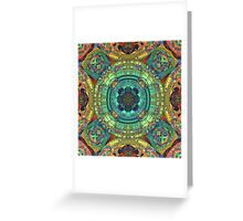 Color and Symmetry Greeting Card