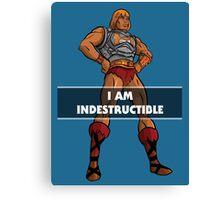 "He-Man ""I am Indestructible"" Canvas Print"