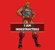 "He-Man ""I am Indestructible"" Unisex T-Shirt"