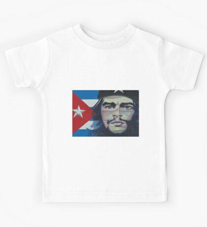 Che Guevara poster- Vinales, Cuba Kids Tee
