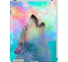 Breathing Dreams Like Air (Wolf Howl Abstract I: Mint) iPad Case/Skin
