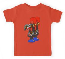 Portuguese Rooster Couple Kids Tee