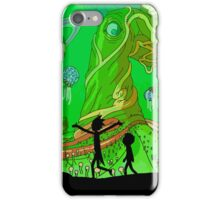 Rick and Morty - Green Planet Adventure iPhone Case/Skin