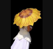 Sunflower Brolly Womens Fitted T-Shirt