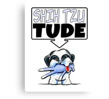 Shih Tzu Tude Canvas Print