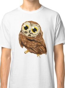 Owly_brown Classic T-Shirt