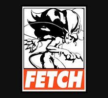 Felicia Fetch Obey Design Men's Baseball ¾ T-Shirt
