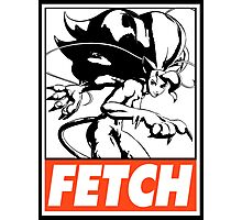 Felicia Fetch Obey Design Photographic Print
