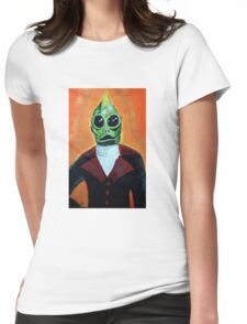 Gentleman Sleestak Womens Fitted T-Shirt