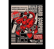 Build Your Boss - Guard Scorpion Photographic Print
