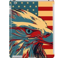 American Patriotic Eagle Bald iPad Case/Skin