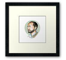 James Mercer Fan Art Framed Print
