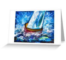 Breeze On Sails Greeting Card