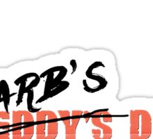 Barb's Dead Sticker
