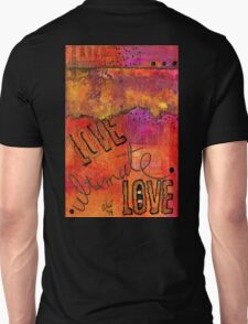 Ultimate LOVE is a Just So Colorful Unisex T-Shirt
