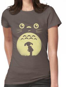 My Lunar Neighbor Womens Fitted T-Shirt