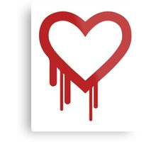 Heartbleed Metal Print
