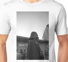 Darth at the beach Unisex T-Shirt
