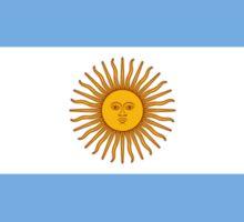 Flag of Argentina, Argentina Flag, Argentinian Flag, Sol de Mayo Bandera de Argentina,The national flag of Argentina Sticker