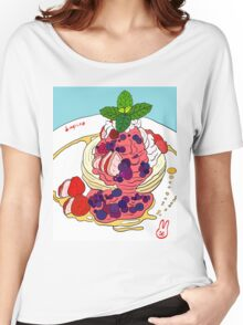 Berry Pancakes Women's Relaxed Fit T-Shirt