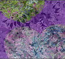 purple heart by Fiona Gardner