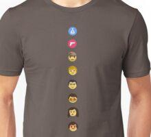 Narcos: Plato, Plomo, Gustavo, Murphy, Carillo, Pena, Valeria, Pablo Emojis Unisex T-Shirt