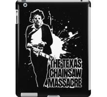The Texas Chainsaw Massacre (Transparent) iPad Case/Skin