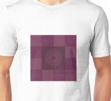 Patchwork - crown chakra Unisex T-Shirt