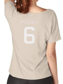 PAUL POGBA 6 Women's Relaxed Fit T-Shirt