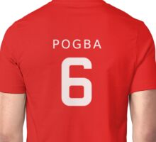 PAUL POGBA 6 Unisex T-Shirt