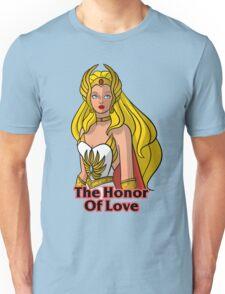 "He-Man She-Ra ""Honor of Love"" Unisex T-Shirt"