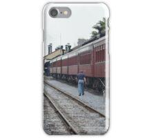 Train # 90 Arriving at Strausburg Station   iPhone Case/Skin