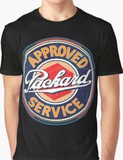 Vintage Packard Service Sign Graphic T-Shirt