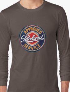 Vintage Packard Service Sign Long Sleeve T-Shirt