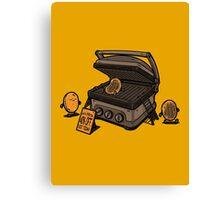Pancakes Solarium Canvas Print