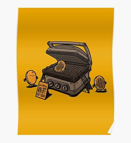 Pancakes Solarium Poster
