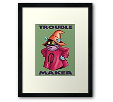 "He-Man Orko ""Trouble Maker"" Framed Print"