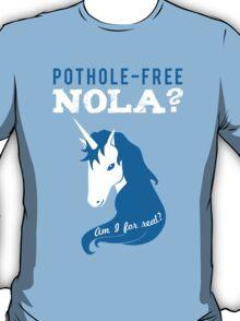 Pothole Free NOLA T-Shirt