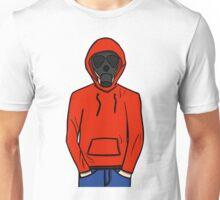 Hooded Gas Mask Unisex T-Shirt