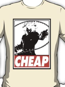 Ghost Rider Cheap Obey Design T-Shirt