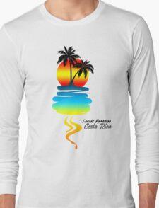 Sunset Paradise, Costa Rica Long Sleeve T-Shirt