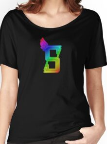 MLP - Cutie Mark Rainbow Special – Crystal Prep Shadowbolts V3 Women's Relaxed Fit T-Shirt