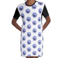 Valdes Sunset Graphic T-Shirt Dress