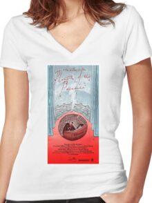 Phantom of the Paradise Women's Fitted V-Neck T-Shirt