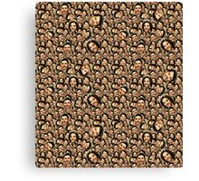 Supernatural Silly Faces Canvas Print