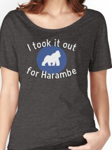 I took it out for Harambe Women's Relaxed Fit T-Shirt