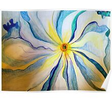 Georgia O'Keeffe Flower Replica  Poster